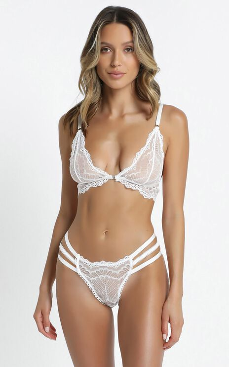 Kat The Label - Vienna Thong in White