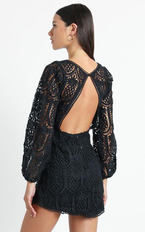 Adeena Dress in Black