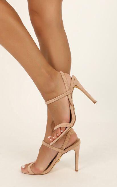 Billini - Elsie heels in blush micro - 5, Blush, hi-res image number null