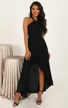 Love Is War Dress In Black