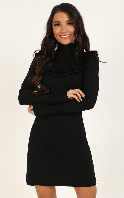 Magnify dress in black - 20 (XXXXL), Black, hi-res image number null