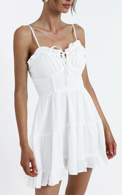 Abigail Dress in White