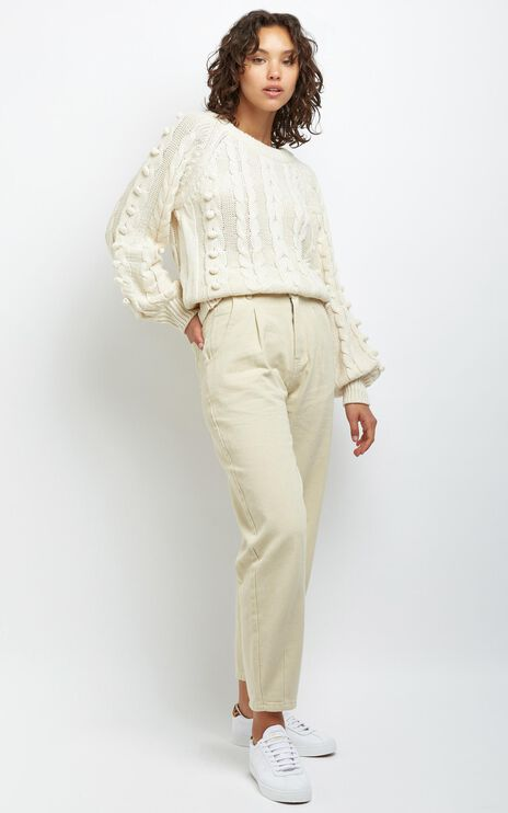 Rowan Pants in Beige