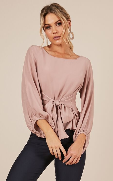 Look Alive Top In Blush