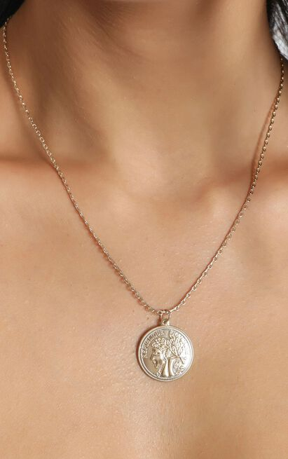 Anastasia Necklace In Gold, , hi-res image number null