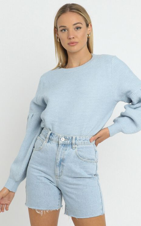 Hamlin Jumper in Blue
