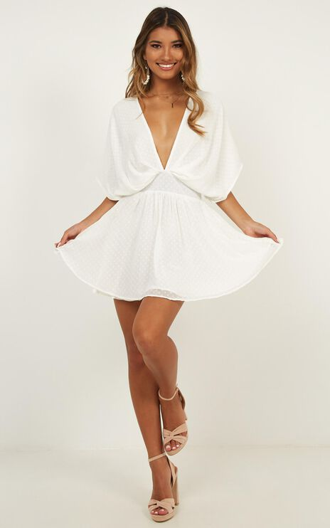 Signed And Sealed Dress In White