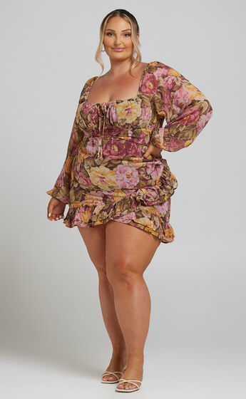 Grizela Dress in Classic Floral