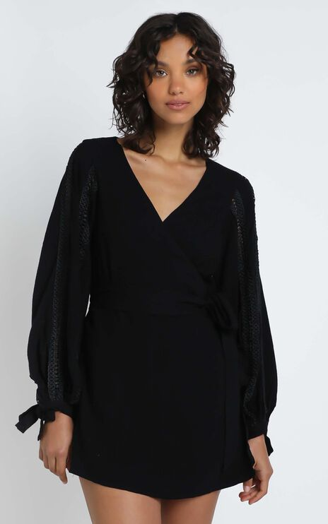 Phoebe Dress in Black
