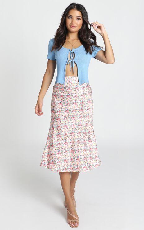 Lasting Love Skirt In Multi Floral