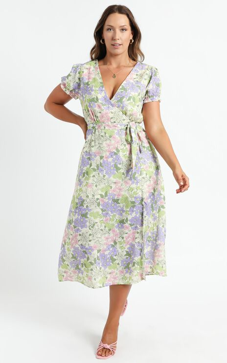 Sudden Life Dress in Garden Floral
