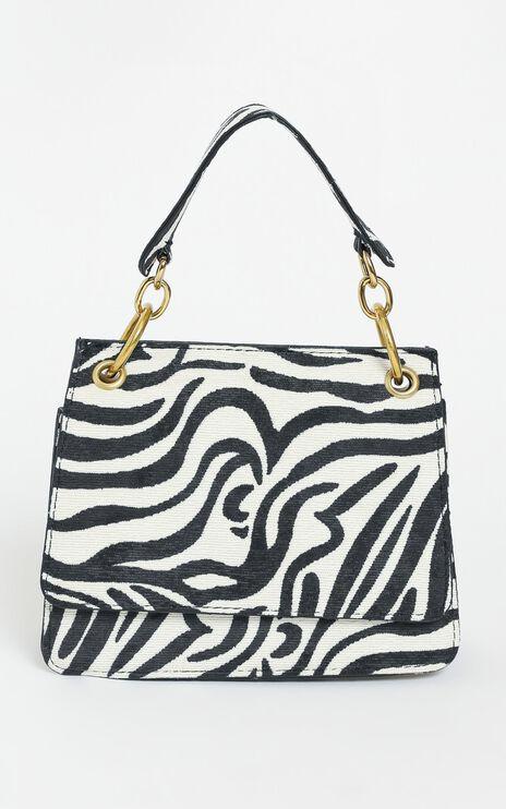 Ryleigh Bag in Zebra Print