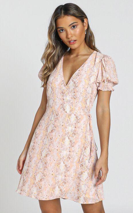 Briana Dress in Mocha