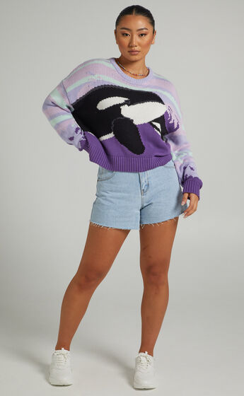 Cools Club - Orca Knit in Lilac