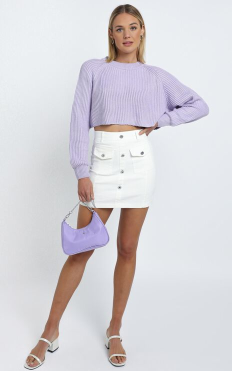 Reina Skirt in White