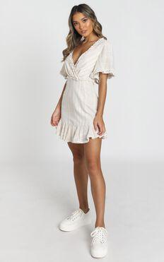 Nova Dress in white