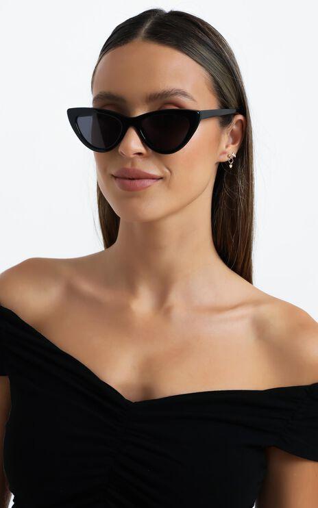 Luv Lou - The Leui Sunglasses in Black