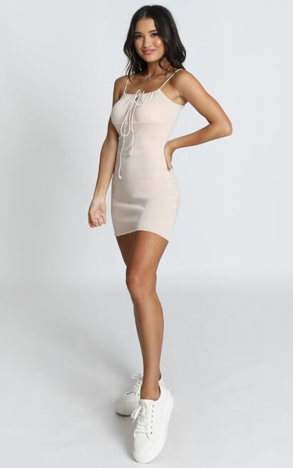 All I Need Dress In beige - 14 (XL), Beige, hi-res image number null