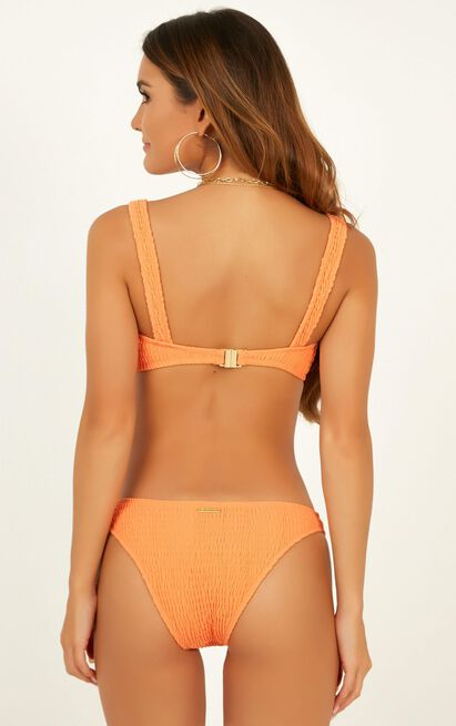 Kenny Bikini Top in sherbet - 18 (XXXL), Orange, hi-res image number null