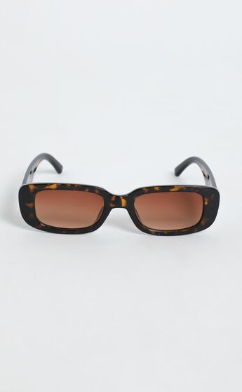 Bianka Sunglasses in Tort