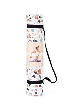 DOIY - Yoga Mat In Terrazzo White