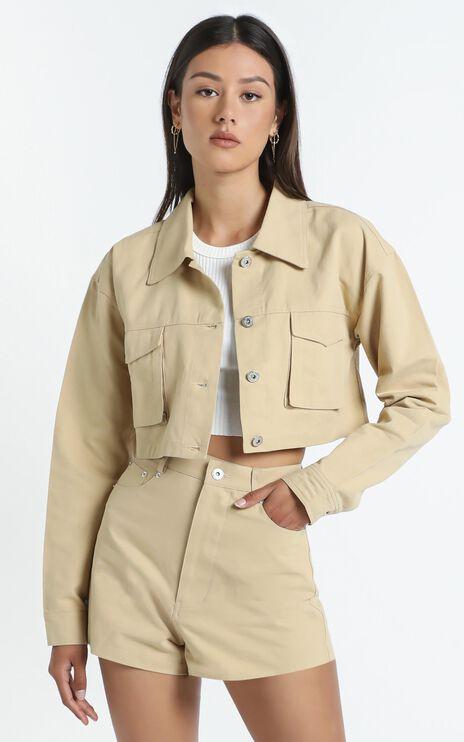 Kincade Jacket in Beige