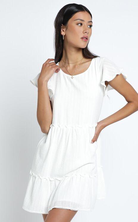 Alma Dress in White