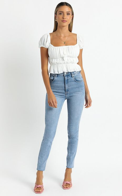 Gimme Top In White