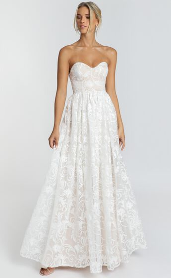 Its a Vow Gown In White