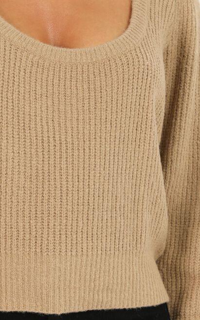 Borrowed love Jumper In beige - 20 (XXXXL), Beige, hi-res image number null