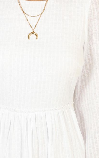 Time Slows Down Dress in white - 20 (XXXXL), White, hi-res image number null