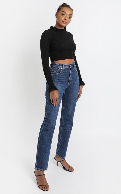 Katiya Knit Top in Black