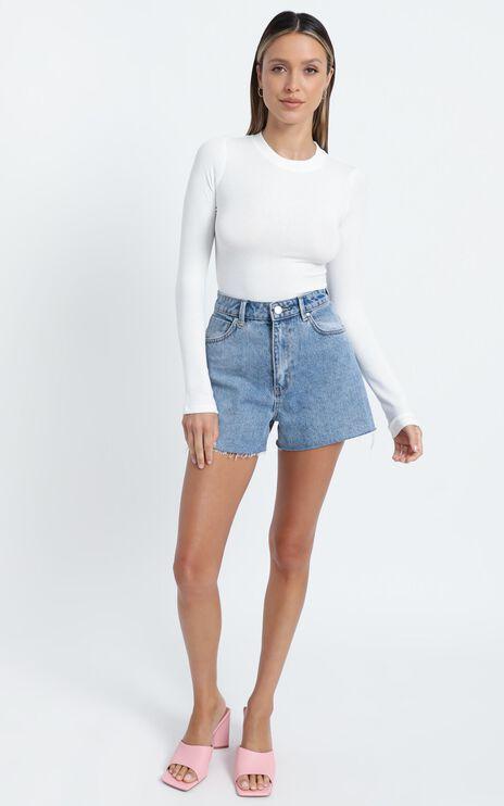 Aleta Bodysuit in White