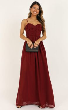 Have I Told You Lately Dress In Wine