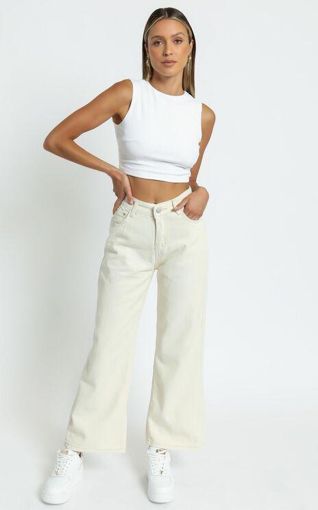 Nessie Top in White