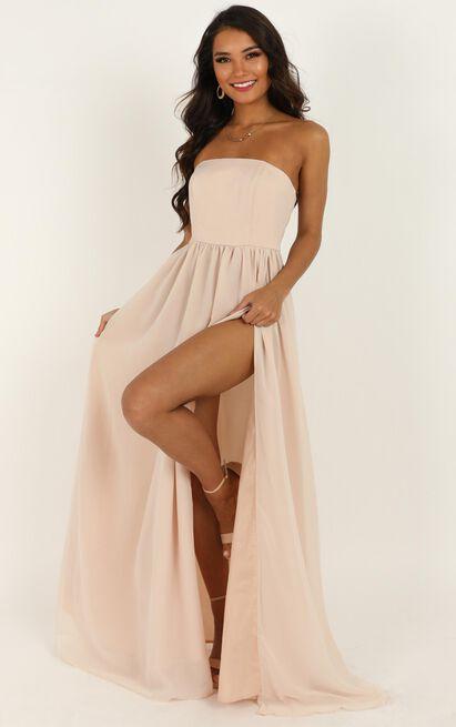 Love Bound Maxi Dress  in champagne - 20 (XXXXL), Beige, hi-res image number null