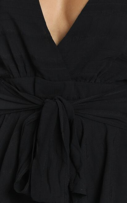 Hamilton Playsuit in black - 6 (XS), Black, hi-res image number null
