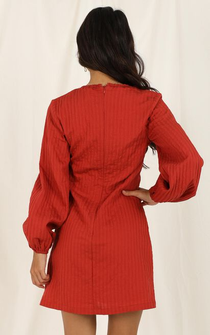 Looking by Dress in rust - 20 (XXXXL), Rust, hi-res image number null