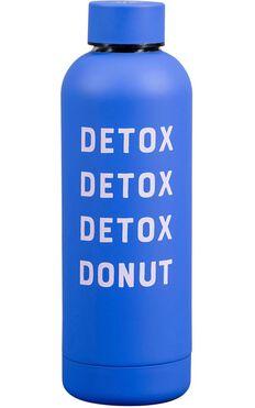 YES Studio: Water bottle - Detox Donut
