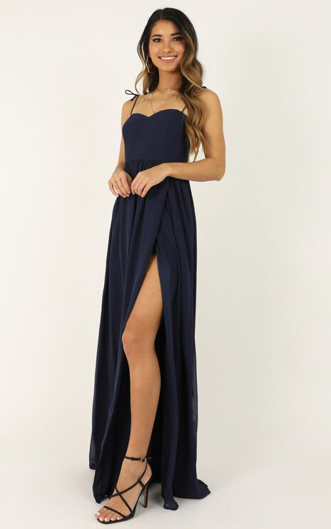My Decision Dress In Navy