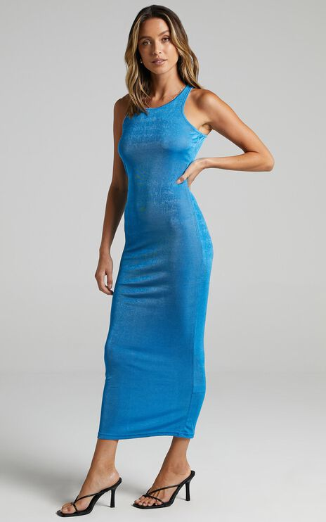 Lioness - Everlast Dress in Blue