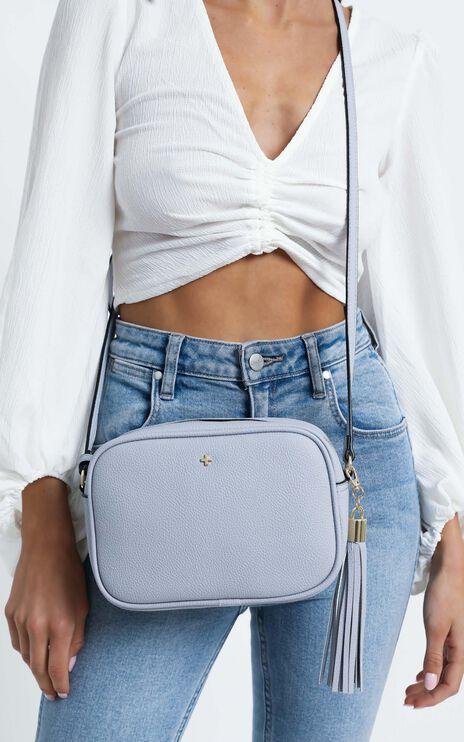 Peta and Jain - Gracie Shoulder Bag in Lavender Pebble