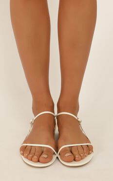 Billini - Patchouli sandals in white