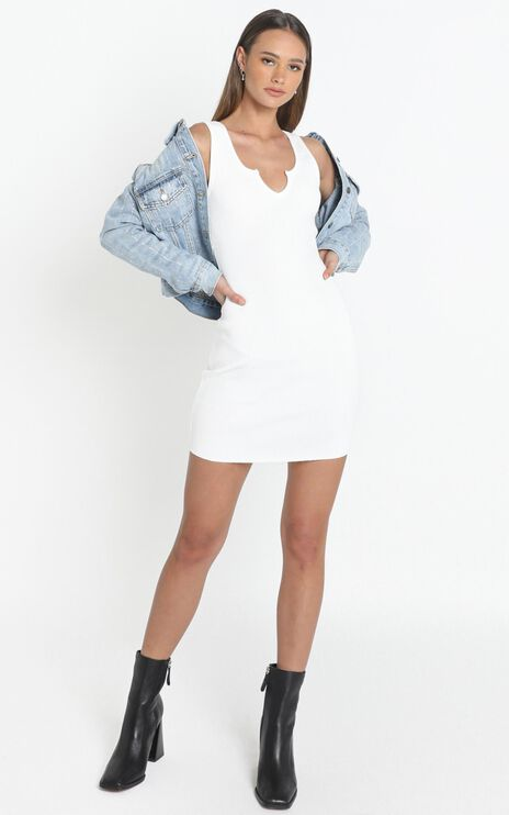 San Jose Dress in White