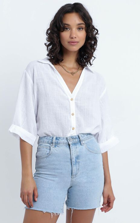 Apsel Top in White