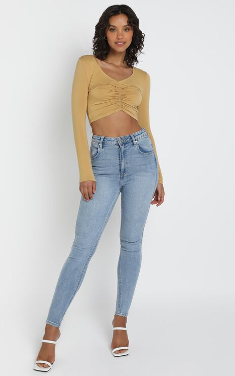 Bobbi Top in Mustard