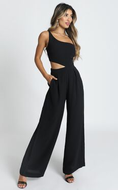 Beautiful Darkness Jumpsuit In Black