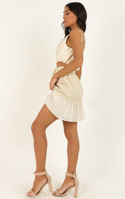 Open Options Skirt in cream - 16 (XXL), Cream, hi-res image number null