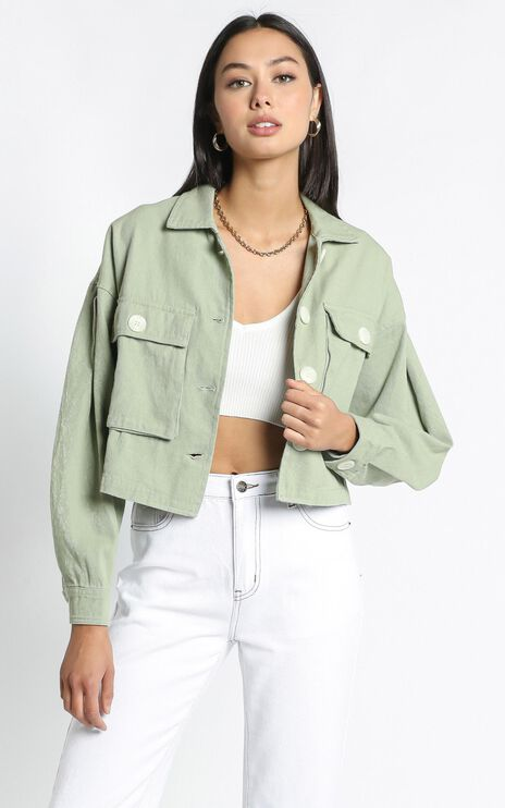 Maygan Jacket in Sage