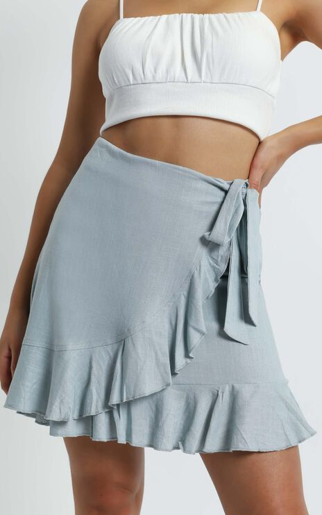 Over and Under Skirt in sage